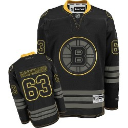 Adult Boston Bruins Brad Marchand Reebok Black Ice Premier NHL Jersey