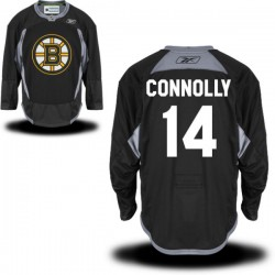 Adult Boston Bruins Brett Connolly Reebok Black Premier Practice Alternate NHL Jersey