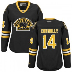 Women's Boston Bruins Brett Connolly Reebok Black Authentic Alternate NHL Jersey