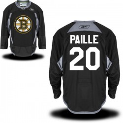 Adult Boston Bruins Daniel Paille Reebok Black Premier Practice Alternate NHL Jersey
