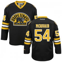 Adult Boston Bruins Adam Mcquaid Reebok Black Premier Alternate NHL Jersey