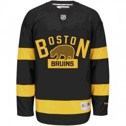 Adult Boston Bruins David Warsofsky Reebok Black Premier 2016 Winter Classic NHL Jersey