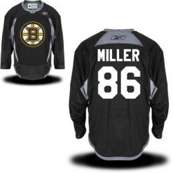 Adult Boston Bruins Kevan Miller Reebok Black Authentic Practice Alternate NHL Jersey