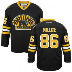 Adult Boston Bruins Kevan Miller Reebok Black Premier Alternate NHL Jersey