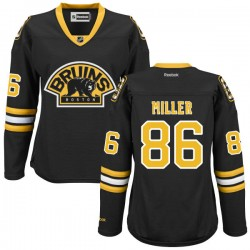 Women's Boston Bruins Kevan Miller Reebok Black Authentic Alternate NHL Jersey