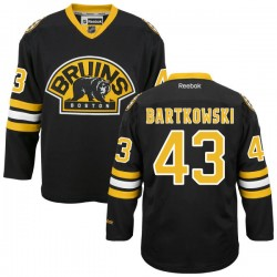 Adult Boston Bruins Matt Bartkowski Reebok Black Authentic Alternate NHL Jersey