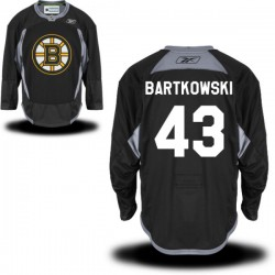 Adult Boston Bruins Matt Bartkowski Reebok Black Authentic Practice Alternate NHL Jersey