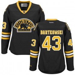 Women's Boston Bruins Matt Bartkowski Reebok Black Authentic Alternate NHL Jersey