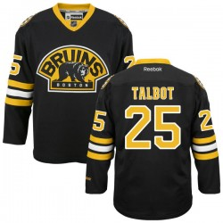 Adult Boston Bruins Max Talbot Reebok Black Authentic Alternate NHL Jersey