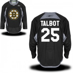 Adult Boston Bruins Max Talbot Reebok Black Authentic Practice Alternate NHL Jersey