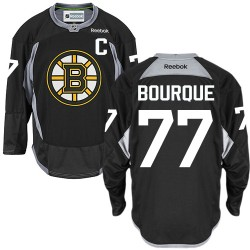 Adult Boston Bruins Ray Bourque Reebok Black Premier Practice NHL Jersey